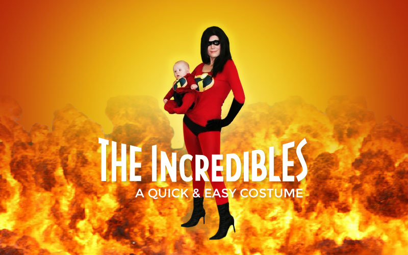 Need a quick costume? Go Incredible(s)!