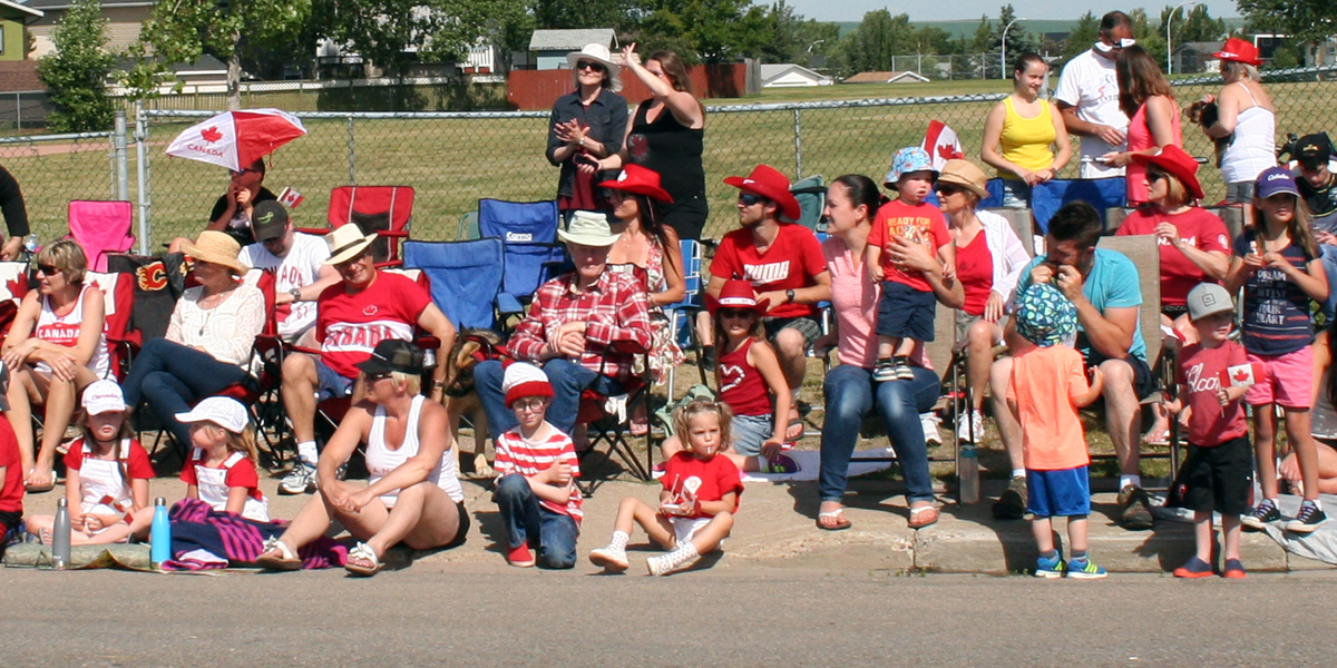 Where's Waldo at the Canada Day Parade