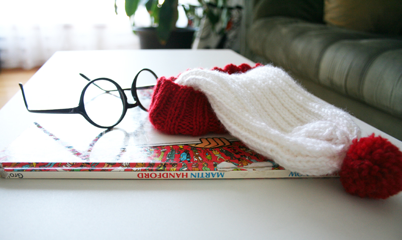 Where's Waldo Knitted Hat Pattern