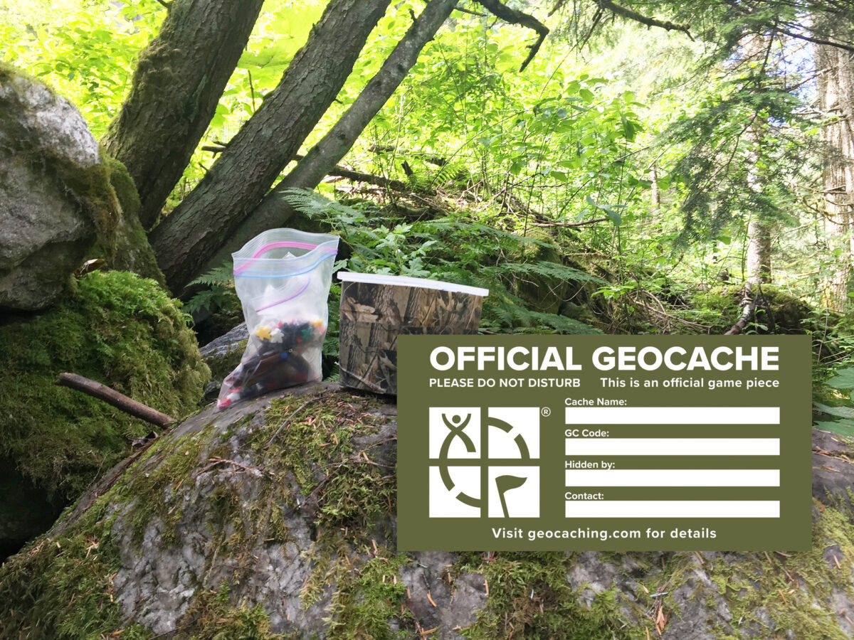 Sample - Free Geocaching Label - Printable