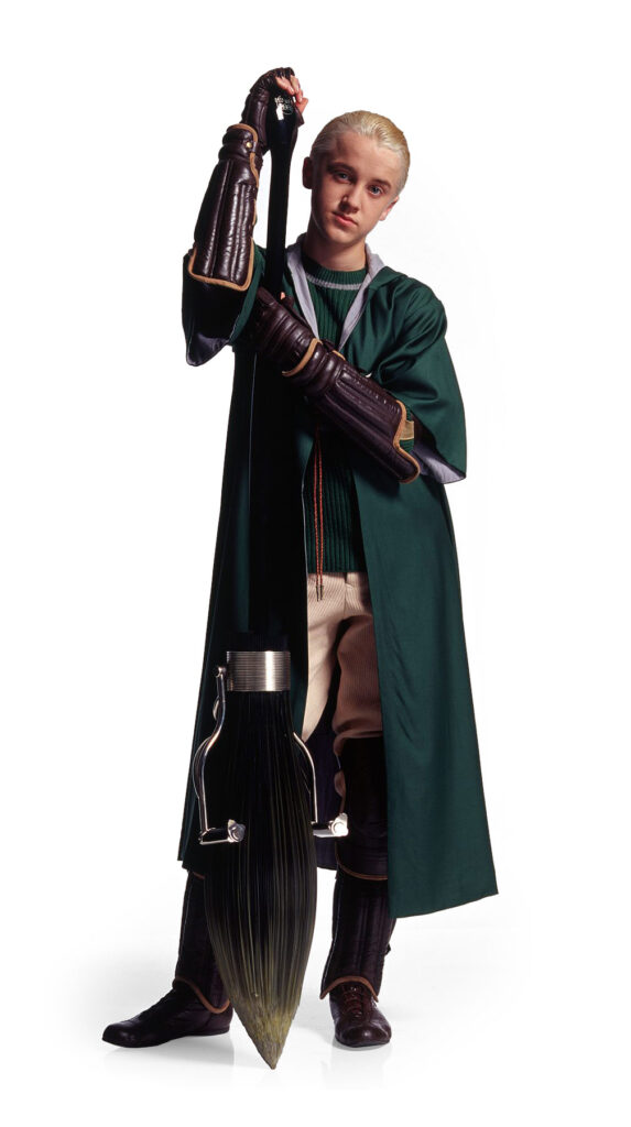 Draco Malfoy with Nimbus 2001 - Quidditch Outfit