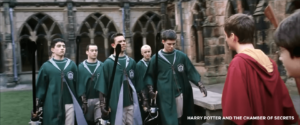 Slytherin Quidditch Team - Harry Potter and the Chamber of Secrets