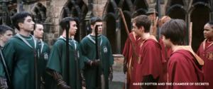 Slytherin vs Gryffindor Screenshot