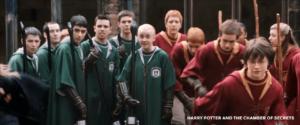 Draco with his Nimbus 2001